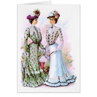 Cartes Robes 1901 de cru