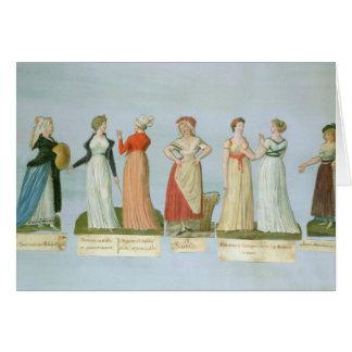 Cartes Robes et costumes dans la mode