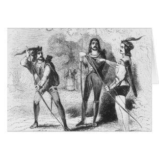 Cartes Robin Hood, écarlate et John