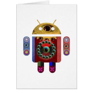 Cartes Robot ANDROÏDE