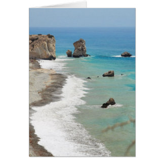 Cartes Roche d'Aphrodite, Chypre