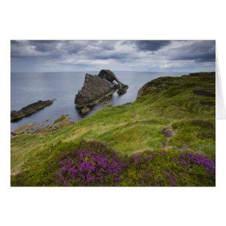 Cartes Roche de violon d'arc, Portknockie, Ecosse