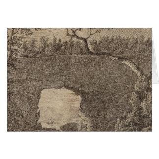 Cartes Roche perforée de baie de Tolaga