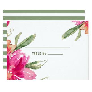 Cartes romantiques d'endroit de Tableau de mariage Carton D'invitation 8,89 Cm X 12,70 Cm