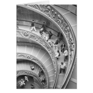 Cartes Rome escalier 3 d'Italie, Vatican
