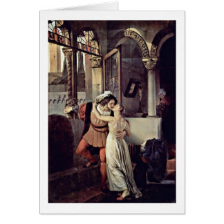 Cartes Romeo et Juliet par Francesco Hayez