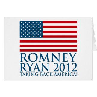 Cartes Romney Ryan 2012