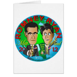 Cartes Romney Ryan Etats-Unis