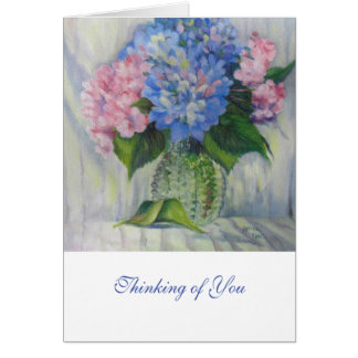 "Cartes ""Rose, bleu, et verre """