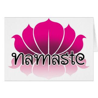 Cartes Rose de Lotus