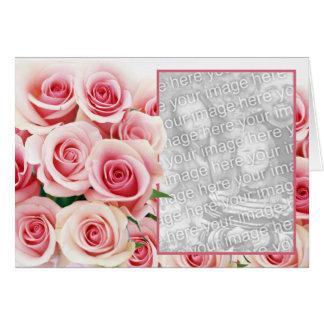 Cartes Rose de rose Romance - modèle