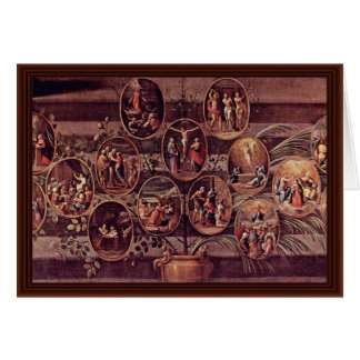 Cartes Rosenkranz Madonna par Reni Guido