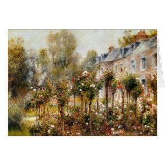 Cartes Roseraie Wargemont par Renoir