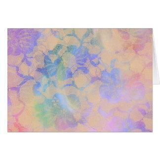 Cartes Roses abstraits dans des couleurs en pastel