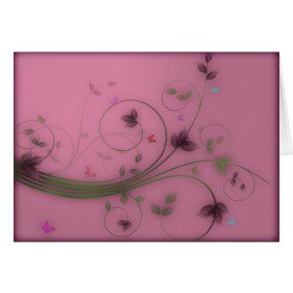 Cartes Roses de ressort