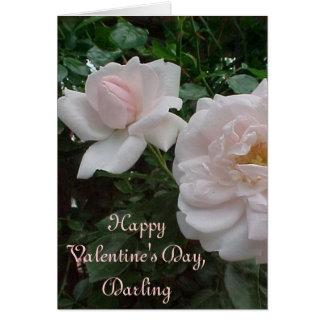 Cartes Roses de Valentine