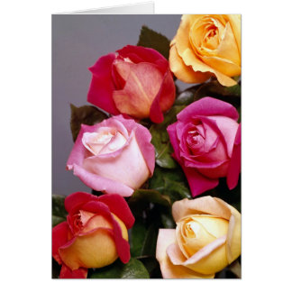 Cartes roses d'élégance