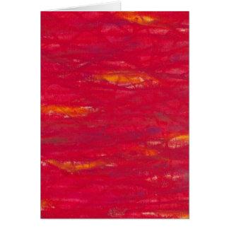 Cartes rouge puissant - knallrot