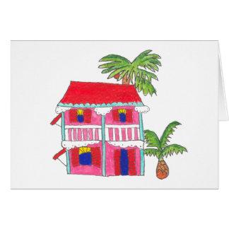 Cartes rouges de Chambre de toit