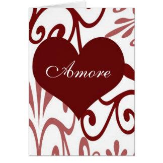 Cartes Rouleau Valentine-Italien