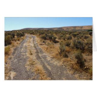 Cartes Route de désert du Nevada
