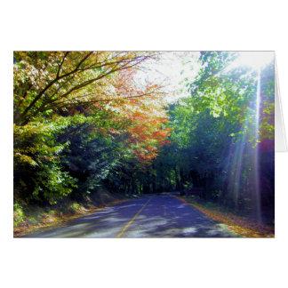 Cartes Route de Portland, Orégon à la roseraie
