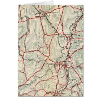 Cartes Routes de bicyclette à New York et Connecticut 12