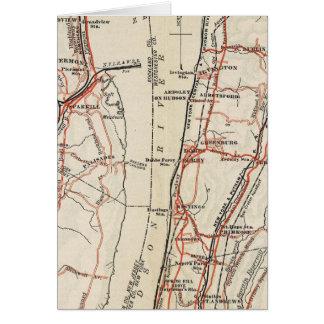 Cartes Routes de bicyclette à New York et Connecticut 7