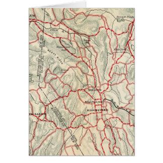 Cartes Routes de bicyclette à New York et Connecticut 9