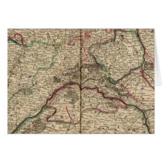Cartes Routes et chapelles romaines