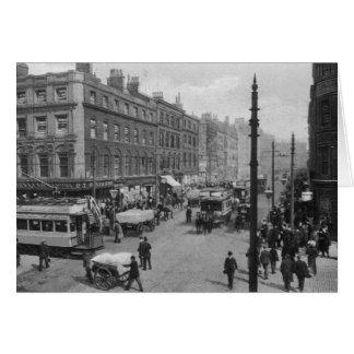 Cartes Rue du marché, Manchester, c.1910