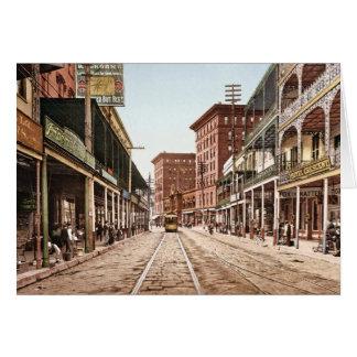 Cartes Rue la Nouvelle-Orléans 1900 de St Charles