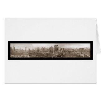 Cartes Ruines de la photo 1906 de San Francisco