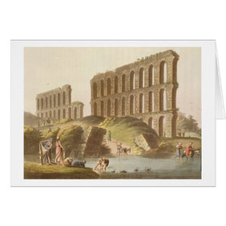 Cartes Ruines de l'aqueduc grand de Carthage antique, p