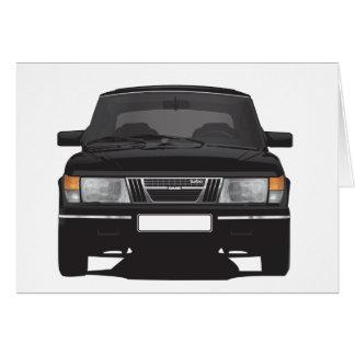 Cartes Saab 900 turbo (noir)
