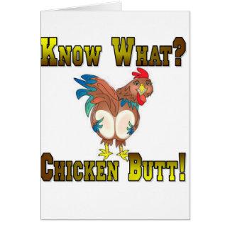 Cartes Sachez ce qui ?  Bout de poulet !