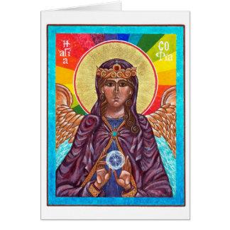 Cartes Sagesse sainte de St Sophia