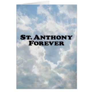 Cartes Saint Anthony pour toujours - de base
