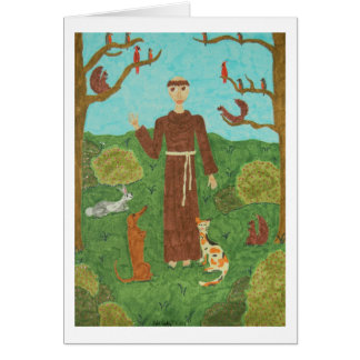Cartes Saint Francis d'Assisi