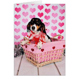 Cartes Saint-Valentin - Dottie - teckel