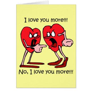 Cartes Saint-Valentin drôle