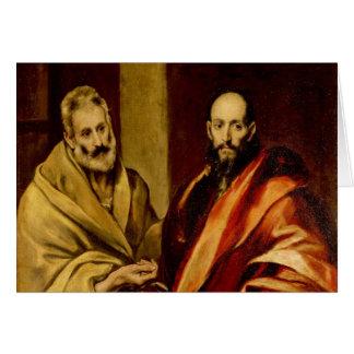 Cartes Saints Peter et Paul par El Greco