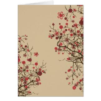 Cartes Sakura - fleurs de cerisier
