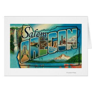 Cartes Salem, lettre ScenesSalem d'OregonLarge, OU 2