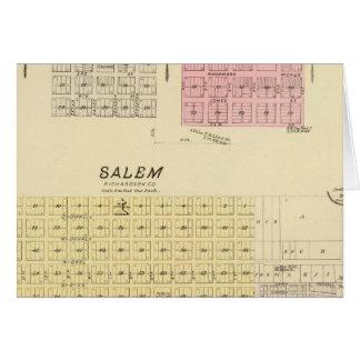 Cartes Salem, Nébraska