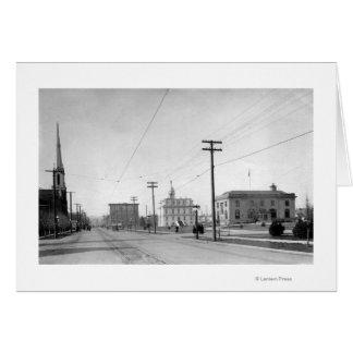 Cartes Salem, OU photographie de rue d'état de vue de