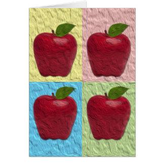 Cartes Salutation d'Apple Rosh Hashanah