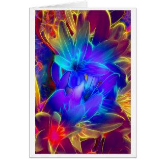 Cartes Salutation de fleurs