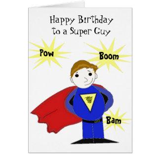 Cartes Salutation superbe d'anniversaire de type