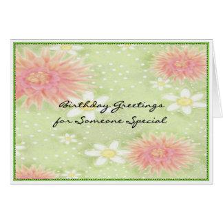 Cartes Salutations d'anniversaire - quelqu'un spécial